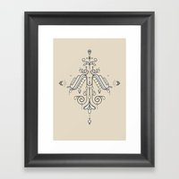 TIOH THREE Framed Art Print