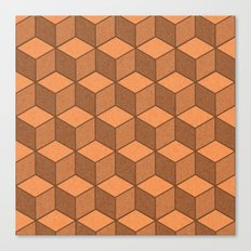 Sand Cubes Canvas Print