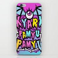 Kyary Pamyu Pamyu 3 T-shirt iPhone & iPod Skin