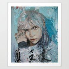 Beautiful Grimes Art Print