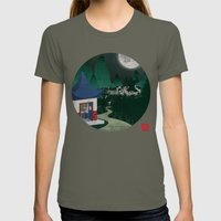 Four of Seven Womens Fitted Tee Lieutenant SMALL