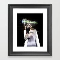 FOLLOW YOUR PASSION Framed Art Print