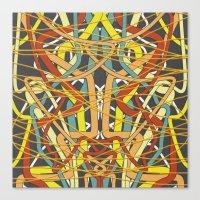 Rungglow Knox Canvas Print