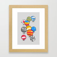 The Lost Marbles Framed Art Print