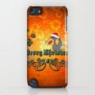 Christmas Crow iPod touch Slim Case