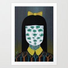 bright monsters II Art Print