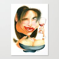 Wine Snob No.4 Canvas Print