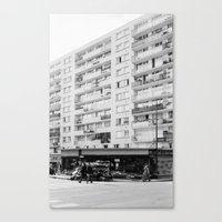 Paris Street Canvas Print