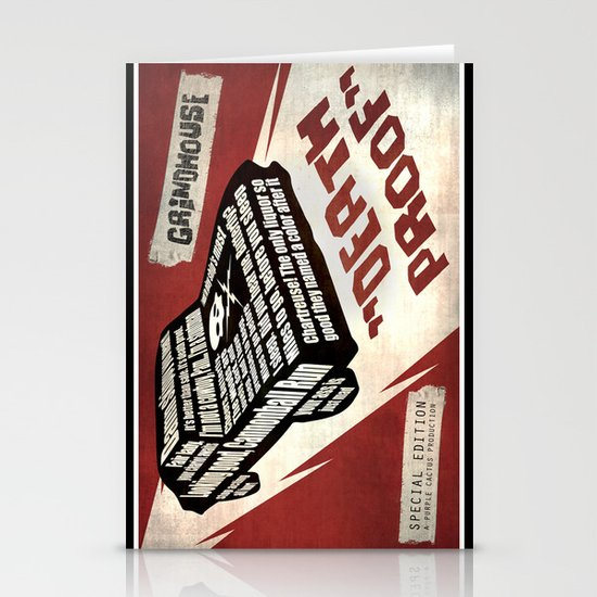 Deathproof redux Stationery Card