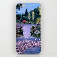 My Garden - By Ave Hurle… iPhone & iPod Skin