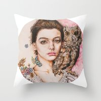 The Most Comfortable Mom… Throw Pillow