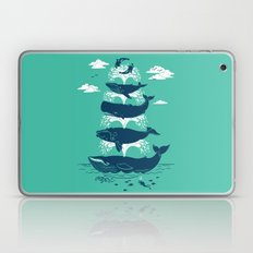 Whale of a Time Laptop & iPad Skin