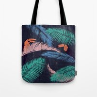 Palms in the Sand   Animals Tote Bag