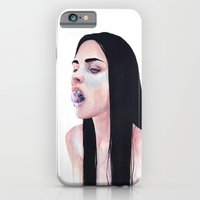 iPhone Cases featuring contenere in sé by agnes-cecile
