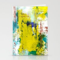 Dreamy Abstract Stationery Cards
