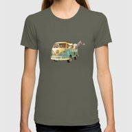 T-shirt featuring NEVER STOP EXPLORING THE… by Monika Strigel