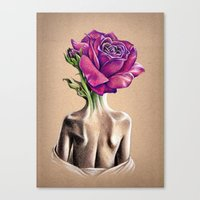 Mollie Rose Canvas Print