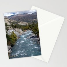 River en route to Manang Stationery Cards