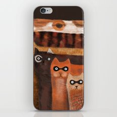 Cat Burglars iPhone & iPod Skin