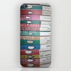 Honesty is the first chapter in the book of wisdom. iPhone & iPod Skin