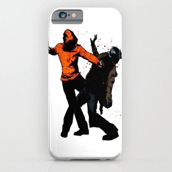 Zombie Fist Fight! iPhone & iPod Case