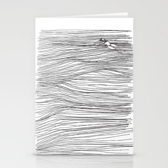 Another Long Silence Stationery Card