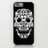 Day Of The Dead Skull iPhone 6 Slim Case