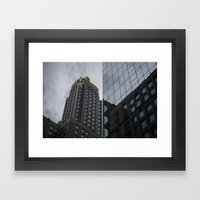 Carbide & Carbon Building Framed Art Print