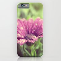 Flower series water drops! iPhone 6 Slim Case