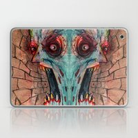 screaming zombie Laptop & iPad Skin