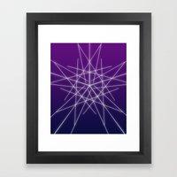 Line  Framed Art Print