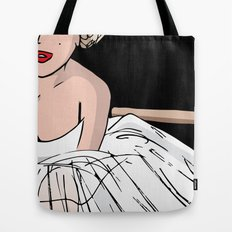 Marylin close up Tote Bag