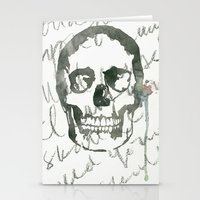 I Want Your Skull Stationery Cards