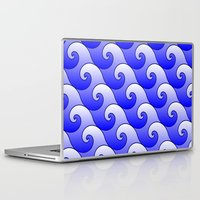 surf Laptop & iPad Skins featuring Surf by Harvey Warwick