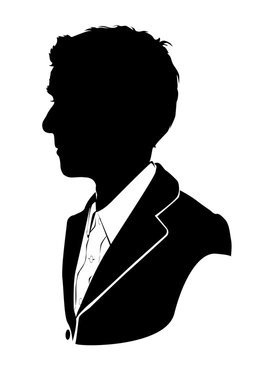 12th Doctor - Standard Silhouette Canvas Print by ...