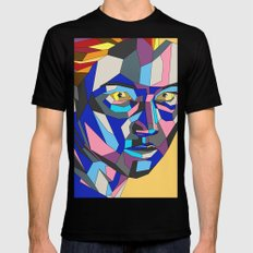 Mystique Mens Fitted Tee Black SMALL