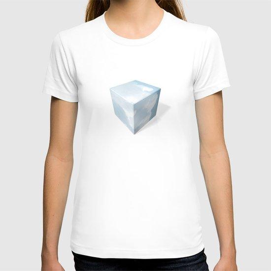 cubed clouds T-shirt