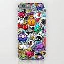 Bizarre Graffiti #1 iPhone & iPod Case