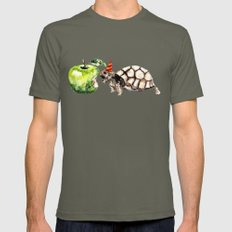 Turtle Mens Fitted Tee Lieutenant SMALL