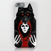 iPhone & iPod Case featuring red ridin' hood by rroncheg