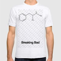 Breaking Bad Mens Fitted Tee Ash Grey SMALL