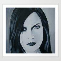 Juliana Muse Art Print