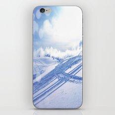 Fresh Tracks iPhone & iPod Skin