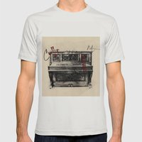 Now Or Later, 7 Mens Fitted Tee Silver SMALL