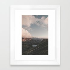 Moonchild - Landscape Photography Framed Art Print