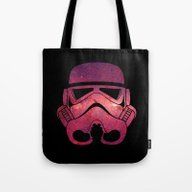 Stormtrooper On Red Star… Tote Bag