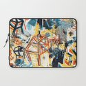 yellowredblueandblack Laptop Sleeve