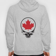 Canadian Steal Your Face (variation) Hoody