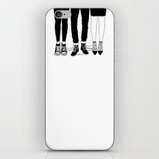 Love Triangle iPhone & iPod Skin