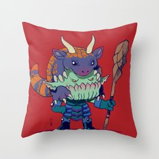 Legend of Animal Hat: Brûlée and Kaiser Throw Pillow